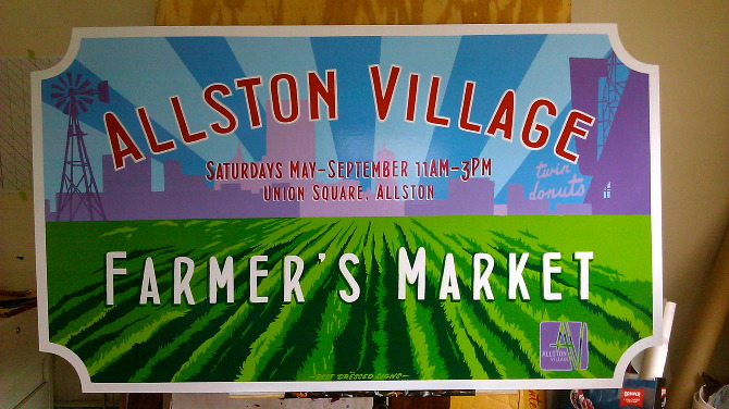booth signs farmers market sign ideas vintage farmers market signs ...