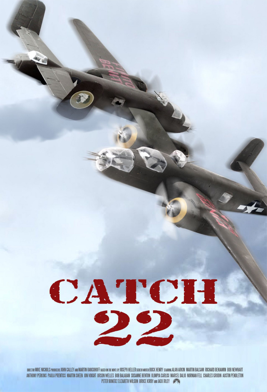 Is the catch 22 movie the same as the book?